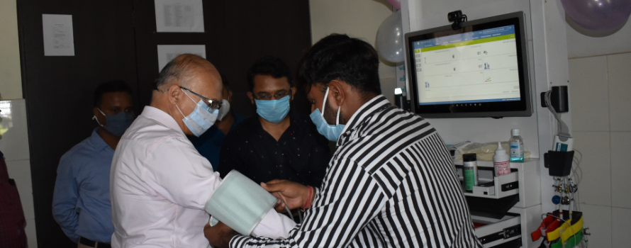 Strengthening Primary Health Centers in Dwarka District with Point of Care – Health Kiosk