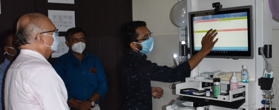 Health Kiosks- Digitalizing Primary Health Centers with Point of Care Services