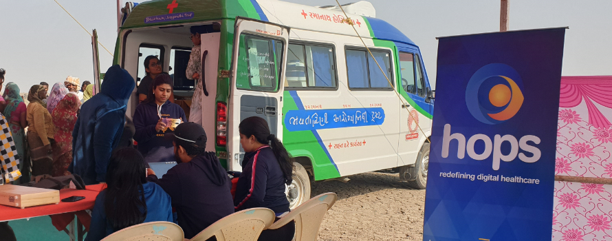 Making Primary Healthcare Accessible to Salt Pan Workers residing in Little Rann of Kutch