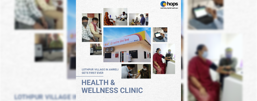 Health and Wellness Clinic gets launched in Lothpur village, Jafrabad district, Gujarat